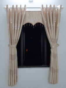 Thi công màn vải cao cấp tại nhà a Tài, tp Quảng Ngãi